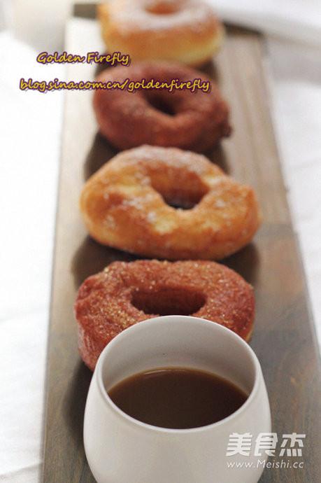 油炸甜甜圈怎么做