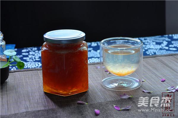 蜂蜜柚子茶的简单做法