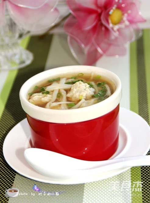 金针菇肉丸汤怎么煮