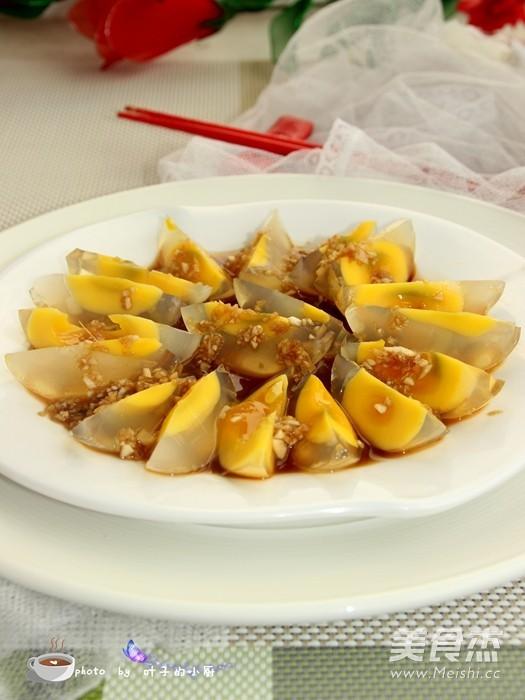 姜汁松花蛋成品图