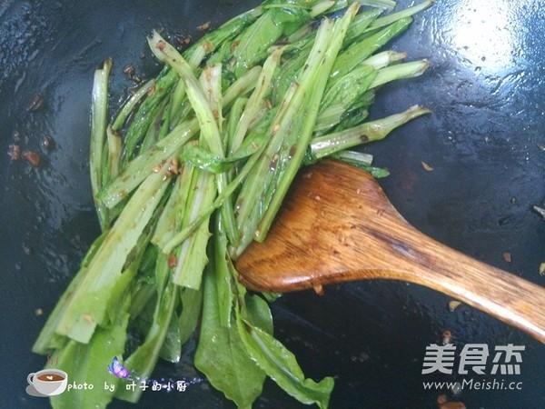 豆豉油麦菜怎么炒