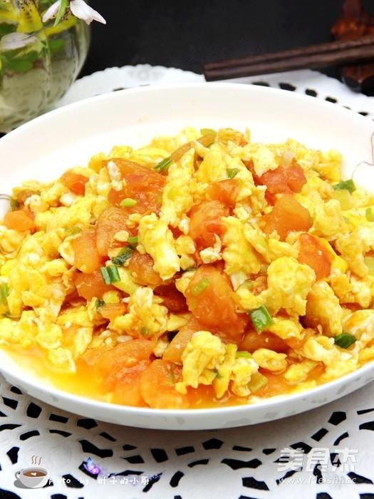 西红柿炒鸡蛋怎么煸