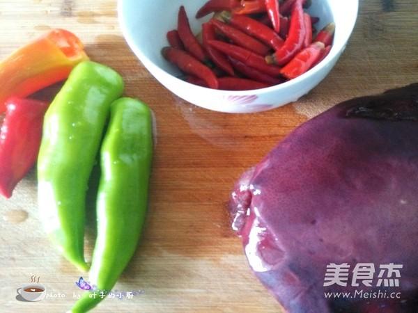泡椒炒猪肝的做法大全