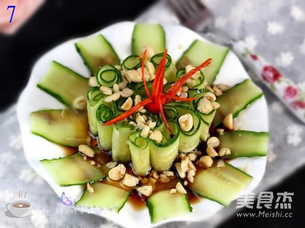 沙拉汁凉拌黄瓜卷怎么炒