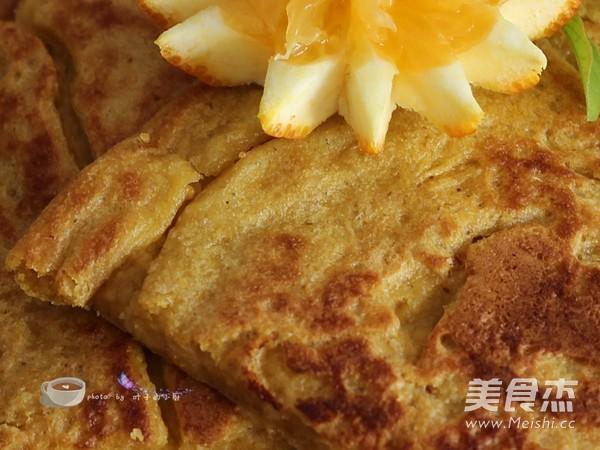 清肠减肥燕麦饼成品图