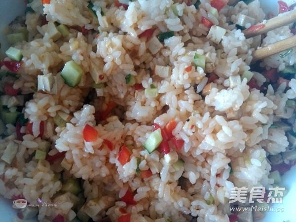 香煎米饭饼怎么吃
