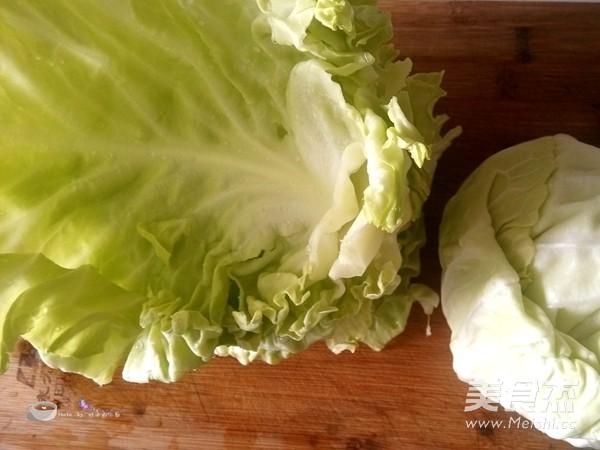 炝炒圆白菜的做法图解
