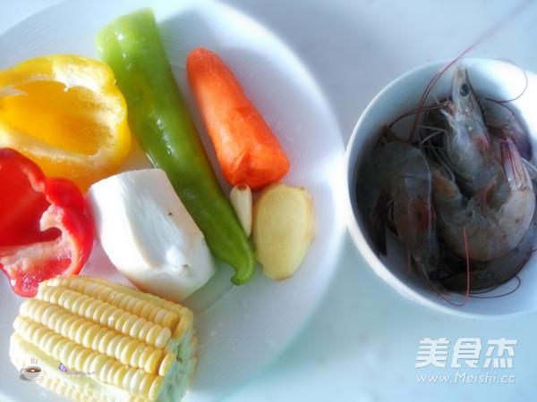 彩蔬炒虾仁的做法大全