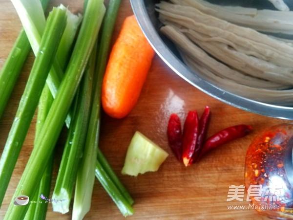 芹菜拌腐竹的做法大全