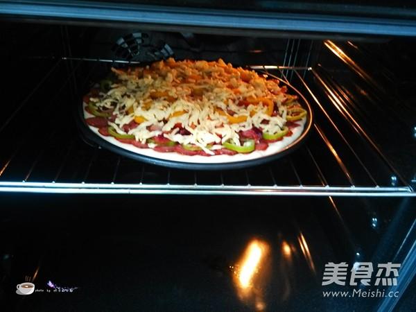 香肠培根披萨怎样做
