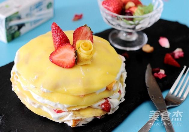 """夏日""""网红""""甜点---千层蛋糕怎么炖"""