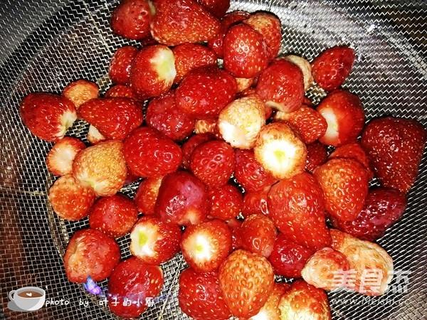 草莓酱的步骤