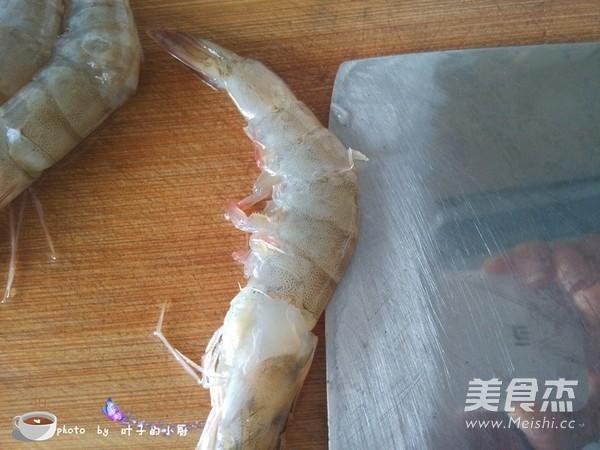 蒜香烤虾的家常做法