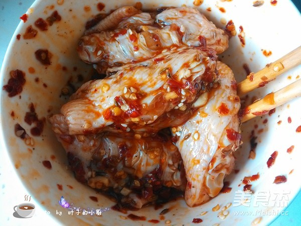 香辣烤鸡翅的简单做法
