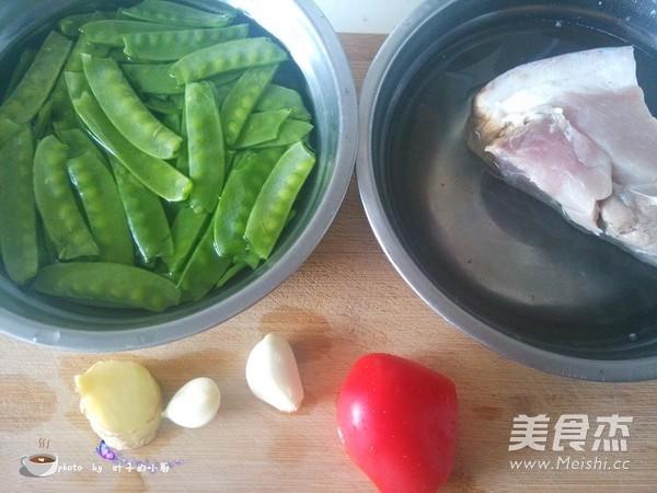 荷兰豆炒腊肉的做法大全