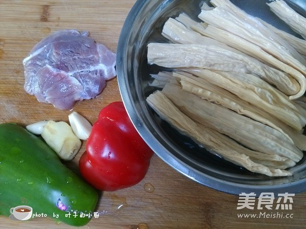 腐竹炒肉的做法大全