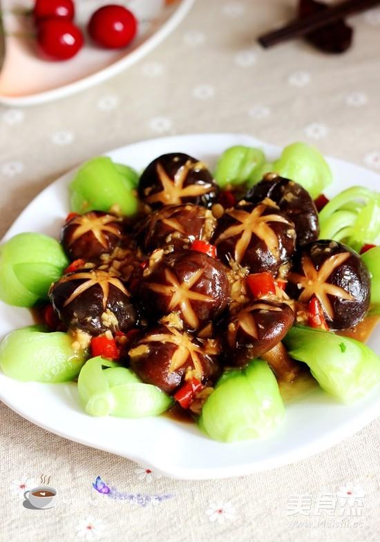 香菇油菜怎样炒