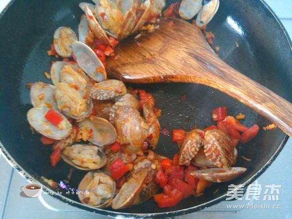 辣炒蛤蜊怎么煮