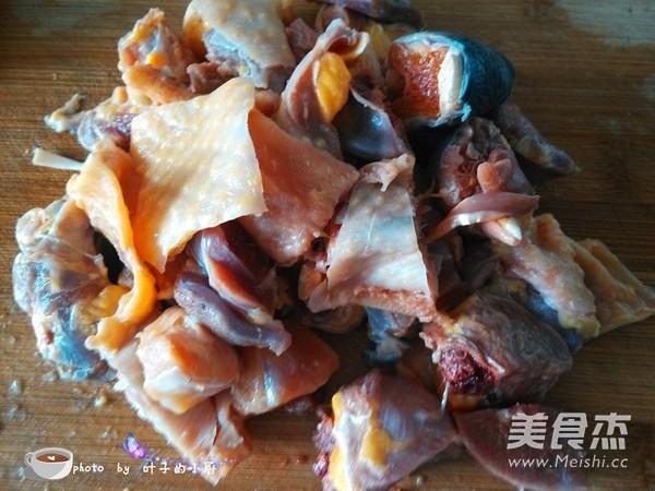 春笋焖土鸡的简单做法
