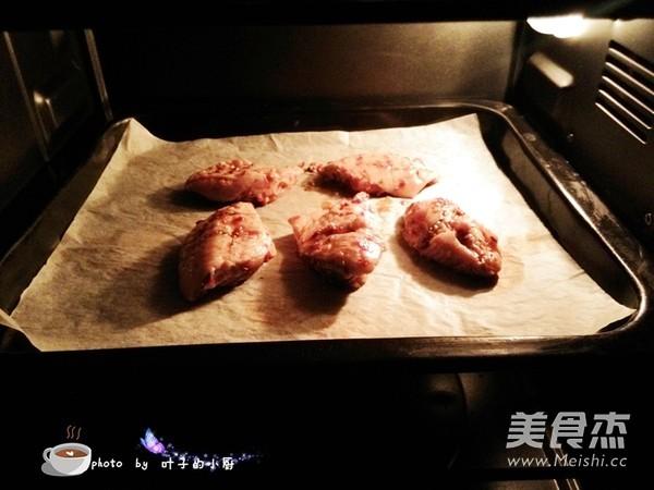 香辣烤鸡翅怎么做