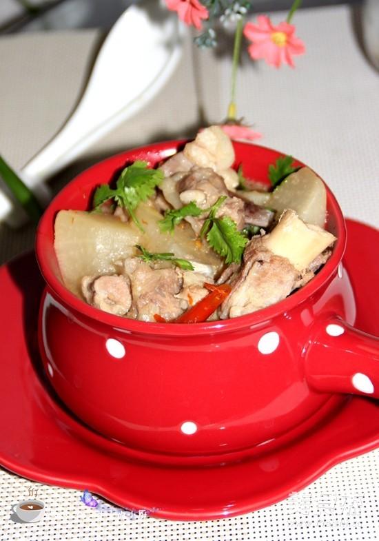 蘿卜燉羊肉成品圖