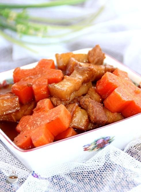 胡萝卜红烧肉怎么煸