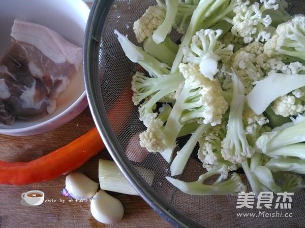 菜花炒肉的做法大全