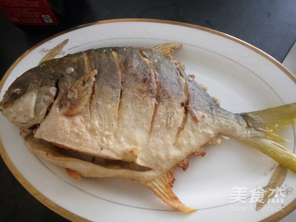红烧金鲳鱼的家常做法
