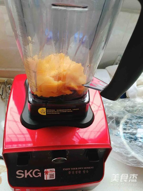 芒果牛奶冰淇淋的做法图解