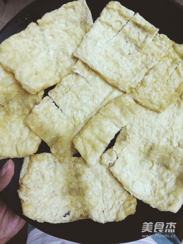 蒜香豆腐皮的家常做法