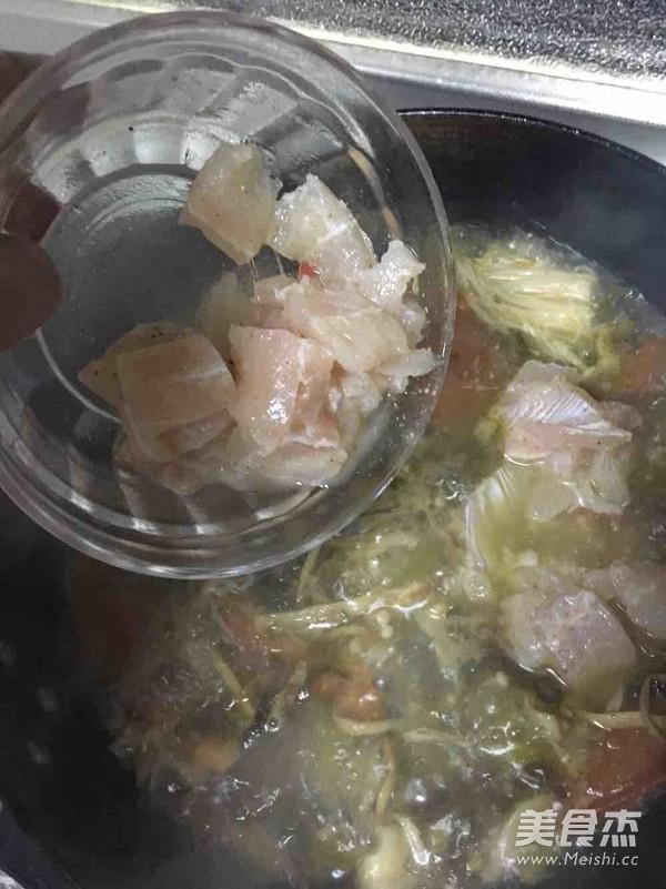 酸菜鱼式杂烩酸汤鱼怎么炖