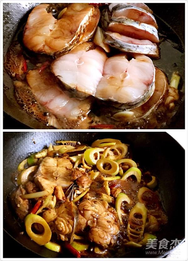 青鱼烧竹笋的简单做法