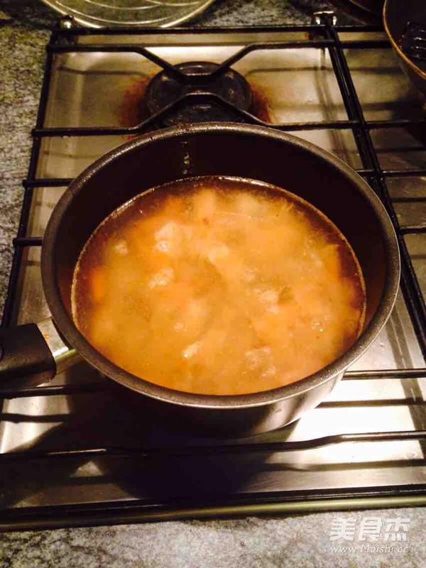 番茄海鲜浓汤的做法图解