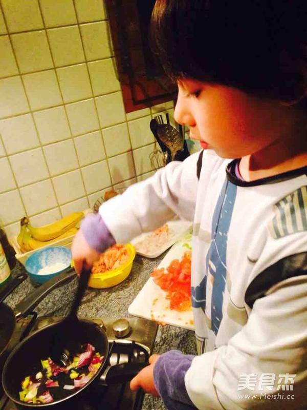 番茄海鲜浓汤的简单做法