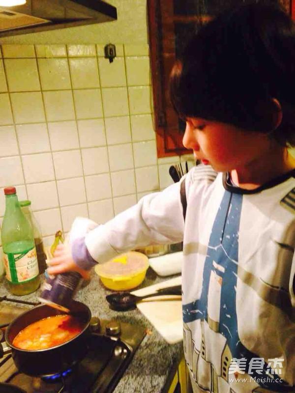 番茄海鲜浓汤怎么煮