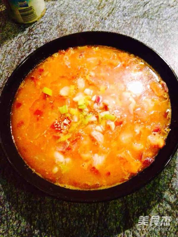 番茄海鲜浓汤怎么炖