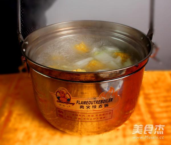 冬瓜玉米排骨汤怎么炒