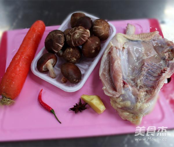 三黄鸡炖香菇的做法大全