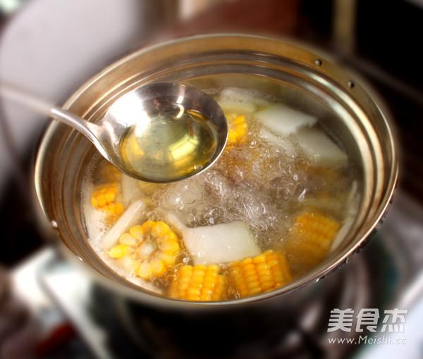 冬瓜玉米排骨汤怎么做