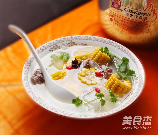 冬瓜玉米排骨汤怎么煮