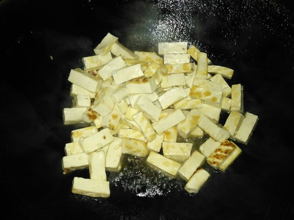 辣椒炒豆腐的做法图解