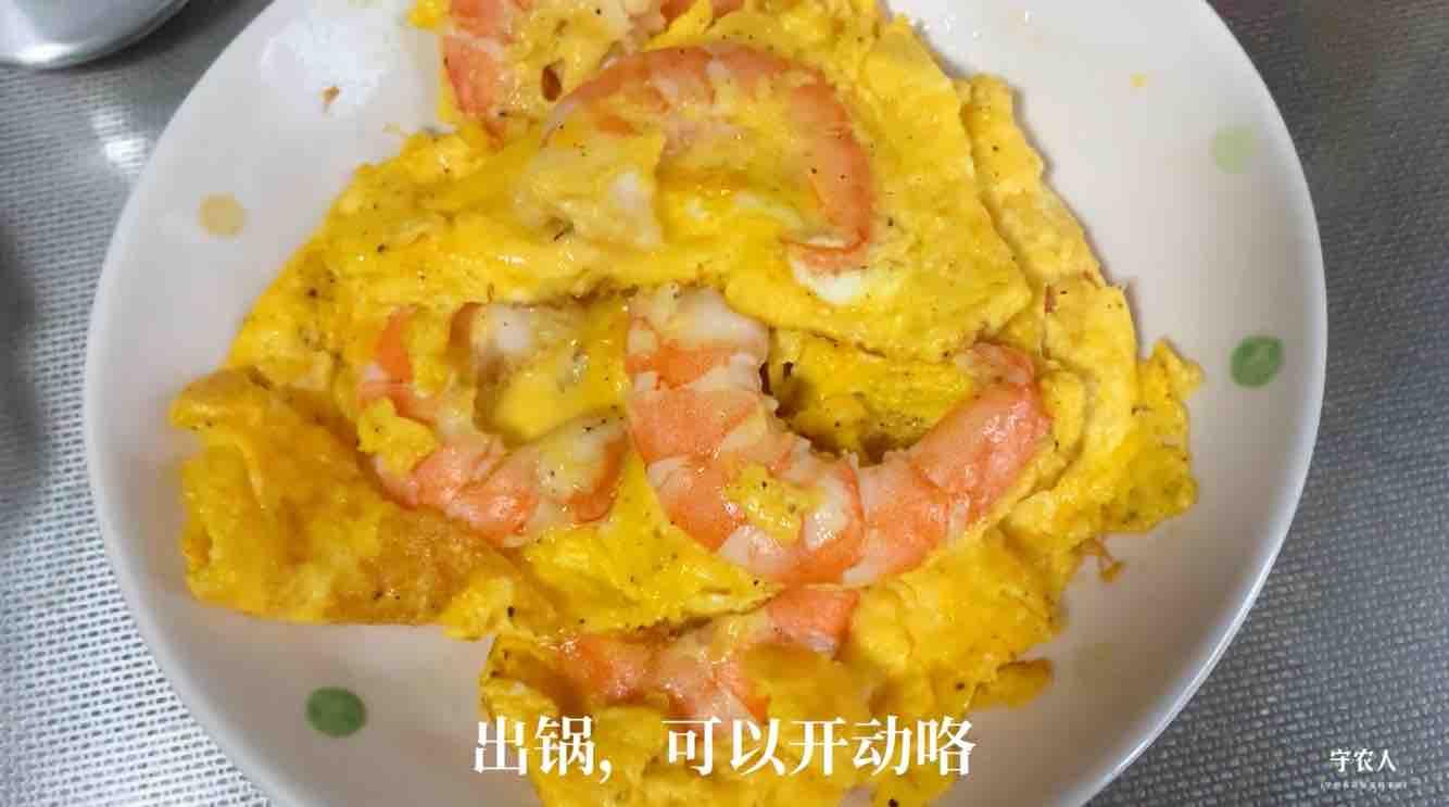 虾仁鸡蛋怎么炒