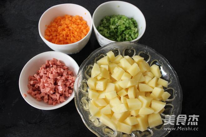 田园土豆蔬菜饼的做法大全