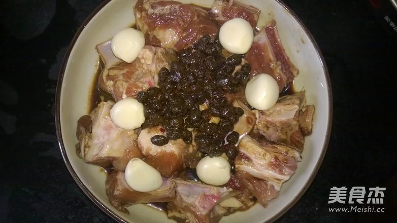 豆豉蒸排骨的家常做法