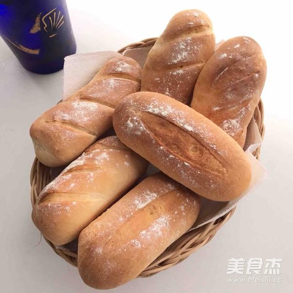 六寸法棍面包的做法大全