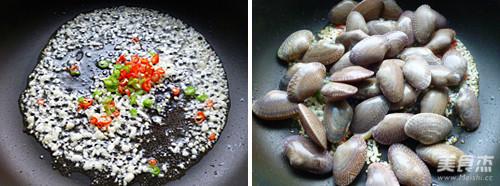 辣炒蛤蜊的家常做法