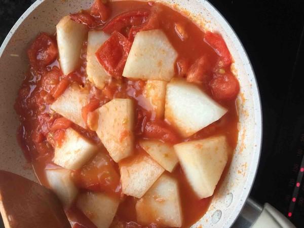 番茄虾仁炖冬瓜的简单做法