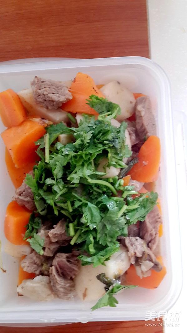 山药胡萝卜炖牛肉怎么炒