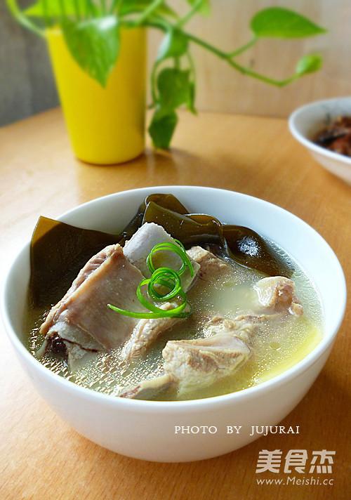 海带汤成品图