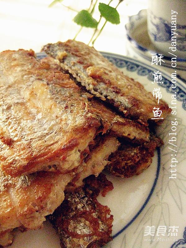 酥煎带鱼成品图